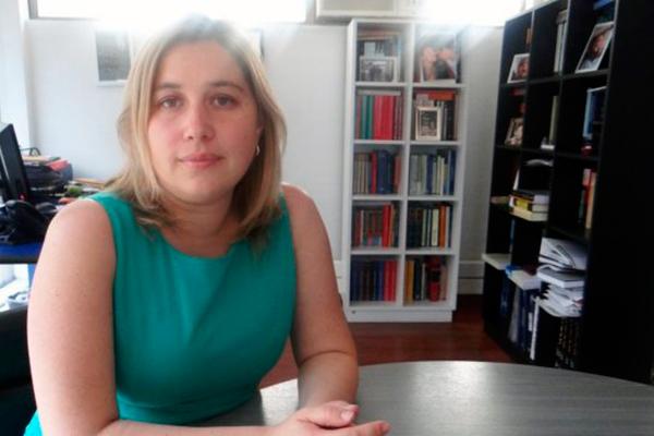 Fernanda Juppet Ewing, autora del libro